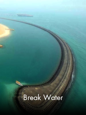 Sabah Al Ahmad Sea City - Break Water