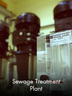 Sabah Al Ahmad Sea City - Sewage Treatment