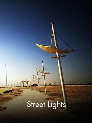 Sabah Al Ahmad Sea City - Street Lights