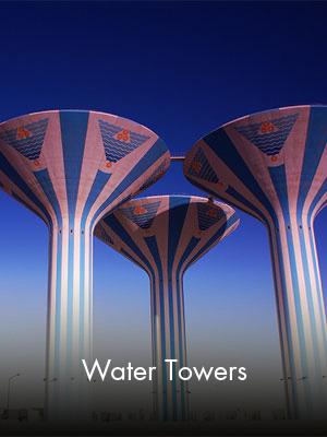 Sabah Al Ahmad Sea City - Water Towers