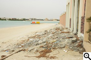Sabah Al Ahmad construction debris waste disposal awareness